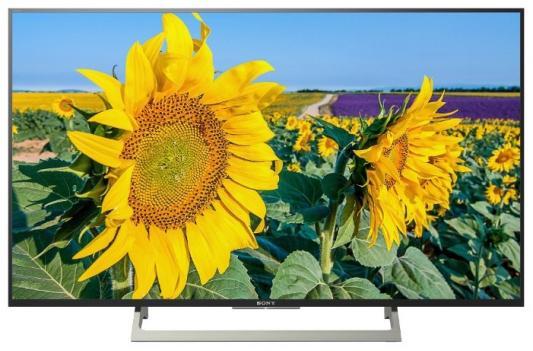 Телевизор SONY KD-49XF8096 черный цена и фото