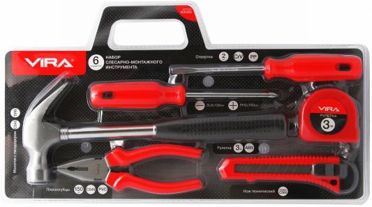 Набор инструментов VIRA 305083 слесарно-монтажного 6предметов набор инструмента vira 305057