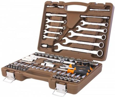 Набор инструментов OMBRA OMT82S12 универсальный, 82 предмета набор инструментов ombra omt143sl 143 предмета [55565]
