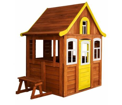 Купить Игровой домик Можга Детский домик Цветочный цвет желтый (P920-4), разноцветный, Детские домики - палатки