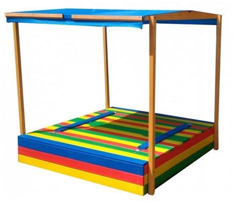Купить Тент Можга Тент для песочницы Славушка (P904), 150x150x140-170 см, Горки и песочницы для детей