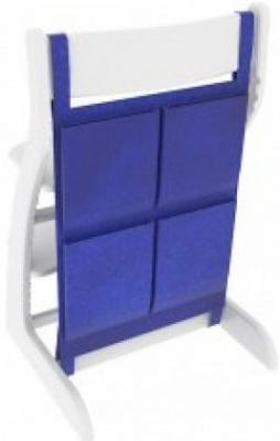 Купить Накладные карманы Бельмарко (синие), Аксессуары к стульчикам для кормления