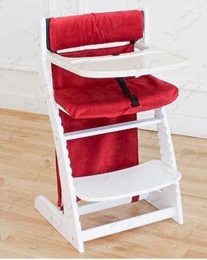 Купить Мягкое основание Бельмарко (бордовое), Аксессуары к стульчикам для кормления