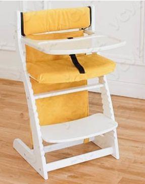 Купить Мягкое основание Бельмарко (желтое), Аксессуары к стульчикам для кормления