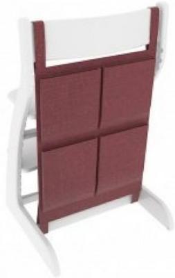 Купить Накладные карманы Бельмарко (бордовые), Аксессуары к стульчикам для кормления