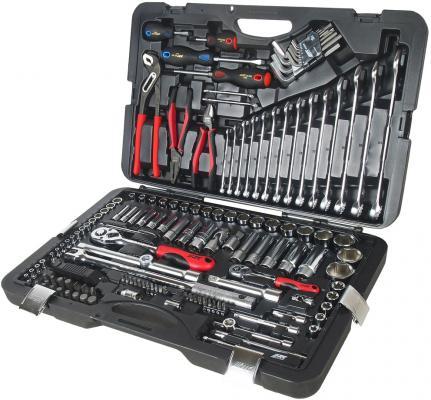 Набор инструментов JTC H145C 1/4 и 1/2 6-гранный в кейсе 145пр. набор инструментов jtc s110b b72