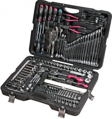 Набор инструментов JTC H156C 1/4 и 1/2 6-гранный в кейсе 156пр. набор jtc 1730