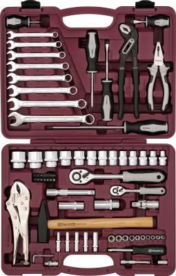 Набор инструментов THORVIK UTS0072 универсальный 1/4 1/2DR 72 предмета набор инструментов thorvik uts0056 56 предметов [52057]