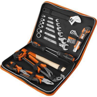 Набор инструментов КРАТОН ST-07/23 слесарный 23 предметов перфоратор кратон rhe 450 12 3 07 01 022