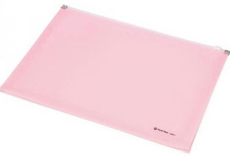Папка на молнии FOCUS А4, 180 листов, материал PP, розовая папка на молнии полноцветная а4 120 листов материал pp лондон