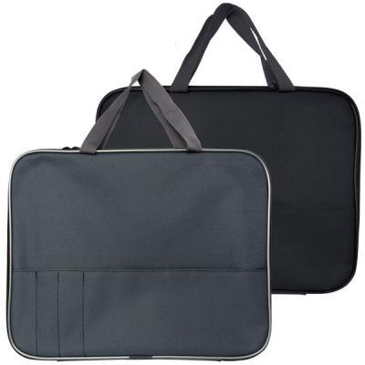 Папка-менеджера SPONSOR с карманом на молнии с ручками, ткань, А4,ассорти логопед советует стенд с карманом а4