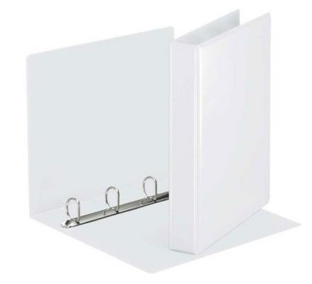 Папка на 4 кольцах ESSELTE ПАНОРАМА, 38мм, D 20 мм, белый папка esselte на 4х кольцах