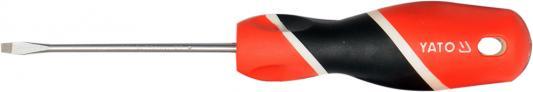 Отвертка YATO YT-25900 шлицевая SL2х75мм трещотка пневматическая yato yt 0980