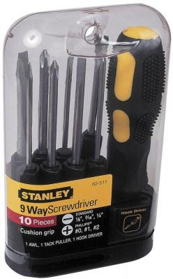 Отвертка STANLEY 0-62-511 со сменными вставками (10 пр.) стоимость