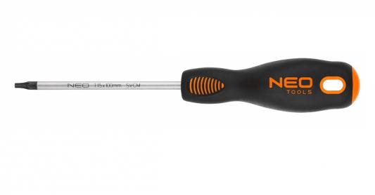 Отвертка NEO 04-044 Torx T15x100мм CrMo шлицевая отвертка neo 6 5x125 мм crmo 04 002