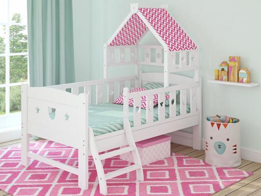Кровать подростковая 150x80см Giovanni Dommy (white-pink) giovanni magico