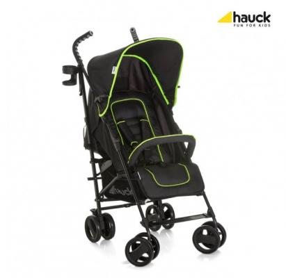 Коляска-трость Hauck Speed Plus S (caviar/neon yellow) коляска трость для двоих детей hauck turbo duo caviar stone