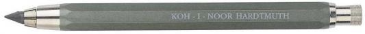 Карандаш цанговый, металлический корпус, с точилкой, 5,6 мм, золотистый lavellecollection карандаш pl12 двойной с точилкой тон 11 черный золотистый 7 г page 3