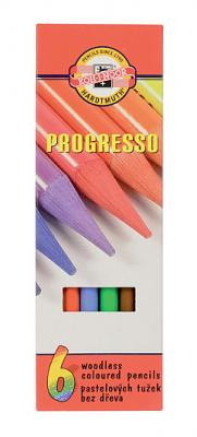 Набор цветных карандашей Koh-i-Noor Progresso 6 шт 153 мм