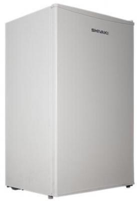 Холодильник SHIVAKI SDR-084W белый холодильник shivaki sdr 054s