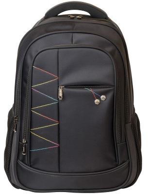 Рюкзак ACTION городской, с отделением для ноутбука, размер 46х30х15см, черный, унисекс