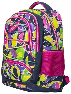 Городской рюкзак ручка для переноски Action! городской 17 л разноцветный AB11135 рюкзак детский городской polar 17 л цвет серый п0088 06