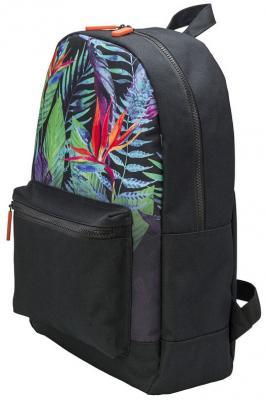 Рюкзак ACTION Цветные Листья, городской, размер 44х29х14 см, с принтом, мягкая уплотненная спинка, д рюкзак сумка action городской размер 38x27x12 см мягкая спинка серый с черным карманом унисекс