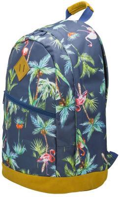 Купить Рюкзак ручка для переноски Action! Пальмы, Фламинго 21 л темно-синий AB11151, полиэстер, Ранцы, рюкзаки и сумки