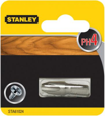 Бита STANLEY STA61024-XJ PH4х32мм 1 шт бита stanley sta62041 xj fatmax torsion pz2х25мм 2 шт