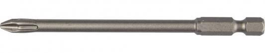 Бита KRAFTOOL ЕХPERT 26121-2-100-1 торсион кованый Cr-Mo E 1/4 PH2 100мм 1шт бита торсионная kraftool expert кованая обточенная тип хвостовика e 1 4 ph2 100 мм