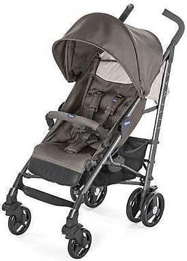 Коляска-трость с бампером Chicco Lite Way 3 Top (dove grey) коляска трость с бампером chicco lite way top stroller s d denim