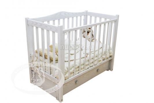 Кроватка с маятником Красная Звезда Лука (слоновая кость) кроватка с маятником sweet baby eligio avorio слоновая кость