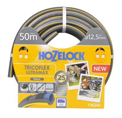 Шланг HOZELOCK 116244 TRICOFLEX ULTRAMAX 50м 1/2 пвх шланг hozelock 116787 super tricoflex ultimate