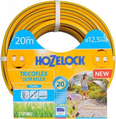 цена на Шланг HOZELOCK 117002 TRICOFLEX ULTRAFLEX 20м 1/2 пвх