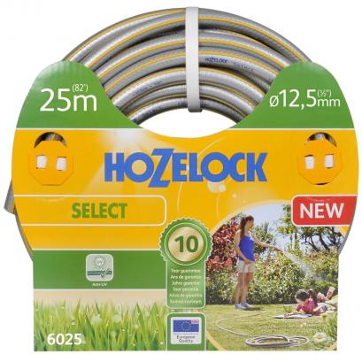 Шланг HOZELOCK 6025 SELECT 25м 1/2 пвх армированный шланг армированный усиленный зубр 40312