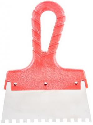 Шпатель зубчатый Hammer Flex 238-029 нерж. сталь 150 мм, 6*6 мм