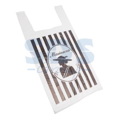Пакет майка ПНД 30+16*60, 12мкм Марианна (100шт./уп) пакет для педикюрных ванн 50 х 70 см 100шт уп