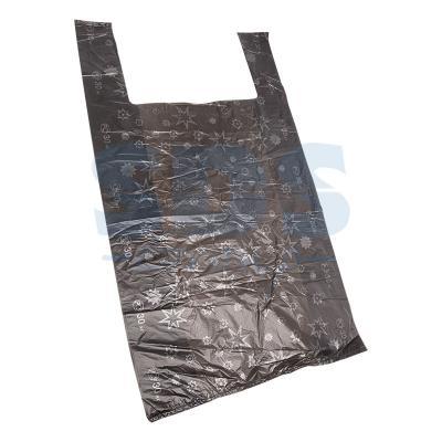 Пакет майка ПНД 38+18*68, 15мкм Звезды (100шт./уп) пакет для педикюрных ванн 50 х 70 см 100шт уп