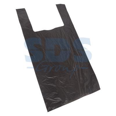 Пакет майка ПНД 42+20*75, 15мкм черная (100шт./уп) пакет для педикюрных ванн 50 х 70 см 100шт уп