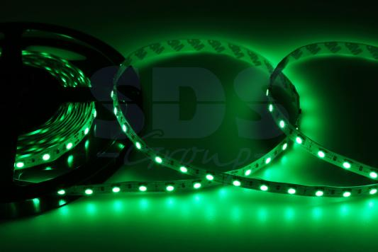 LED лента открытая, 10мм, IP23, SMD 5050, 60 LED/m, 12V, зеленая jurus hot sale led 1m 2m 3meters 5m neon light car decor lamp flexible el wire rope tube waterproof strip with 12v inverter
