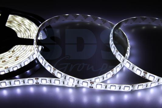 LED лента силикон, 10мм, IP65, SMD 5050, 60 LED/m, 12V, белая t10 5050 5smd 1w 12v 100lm 5xsmd 5050 led lamp car side fog light