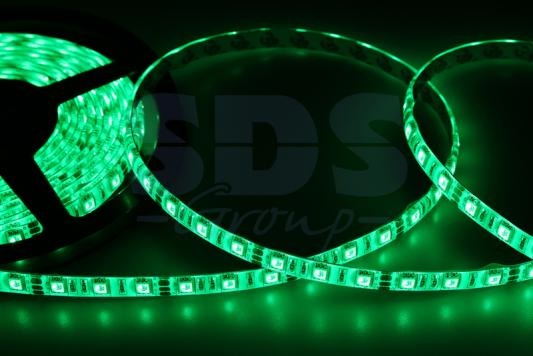 LED лента силикон, 10мм, IP65, SMD 5050, 60 LED/m, 12V, зеленая merdia qpyp13t1c5 2 25w 120lm 470nm 15 smd 1210 led blue car side work light strip 12v 30cm