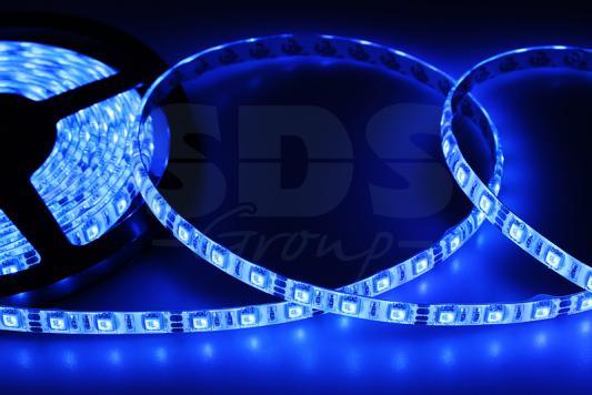 LED лента силикон, 10мм, IP65, SMD 5050, 60 LED/m, 12V, синяя led лента силикон 8мм ip65 smd 2835 60 led m 12v синяя