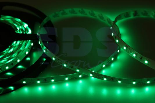 LED лента открытая, 8мм, IP23, SMD 2835, 60 LED/m, 12V, зеленая jurus hot sale led 1m 2m 3meters 5m neon light car decor lamp flexible el wire rope tube waterproof strip with 12v inverter