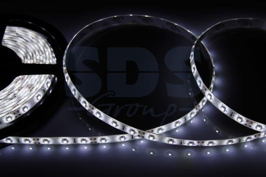 LED лента силикон, 8мм, IP65, SMD 2835, 60 LED/m, 12V, белая led лента силикон 8мм ip65 smd 2835 60 led m 12v синяя