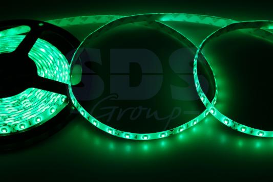 LED лента силикон, 8мм, IP65, SMD 2835, 60 LED/m, 12V, зеленая jurus hot sale led 1m 2m 3meters 5m neon light car decor lamp flexible el wire rope tube waterproof strip with 12v inverter