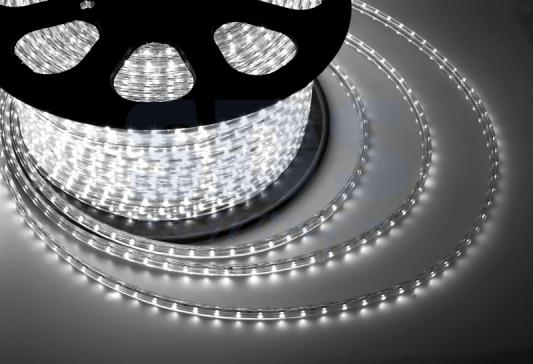 LED лента 220В, 13*8 мм, IP65, SMD 5050, 60 LED/m Белая super slim 45 led 90cm dc12v soft smd light strip yellow led