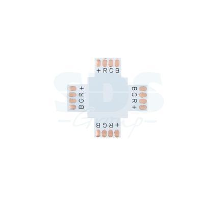 Плата соединительная (X) для RGB светодиодных лент шириной 10 мм Neon-Night муфта для соединения валов shaft coupling 50 10 10 0 394 10 10 25 30 050170 coupling