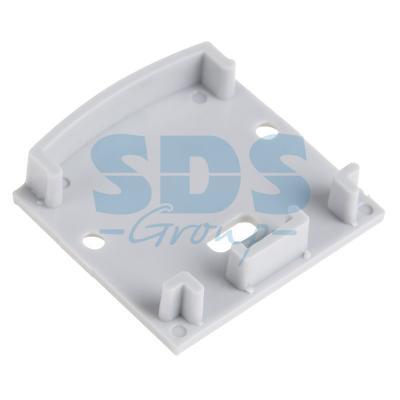 Заглушка для профиля 2825 REXANT, с отверстием угловое соединение для подвесного профиля donolux 120° connector 120