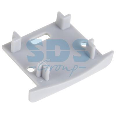 Заглушка для профиля 3725 REXANT, с отверстием угловое соединение для подвесного профиля donolux 120° connector 120